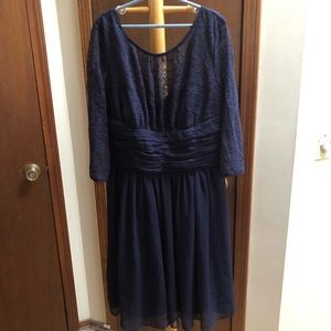 Max and Cleo navy lace dress